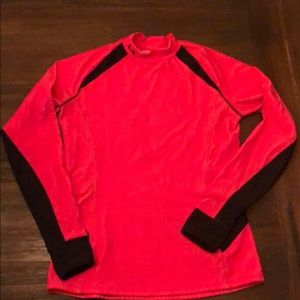 Under armor large base layer top